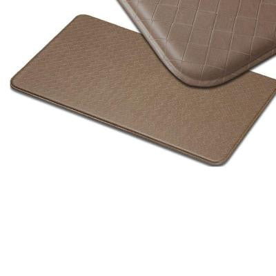 Nantucket Mocha 20 in. x 72 in. Anti Fatigue Comfort Mat