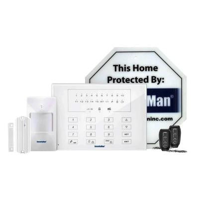 Economy Kit of D.I.Y Wireless Smart Home Alarm System