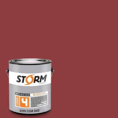 Category 4 1 gal. Spilled Wine Matte Exterior Wood Siding 100% Acrylic Latex Stain