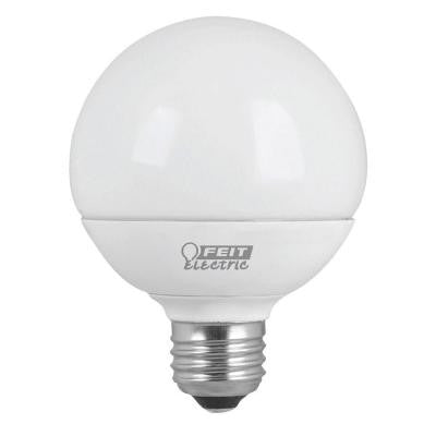 60W Equivalent Soft White G25 Dimmable Frost LED Light Bulb