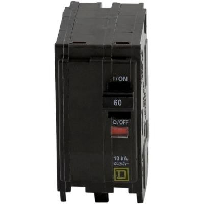 QO 60 Amp Two-Pole Circuit Breaker