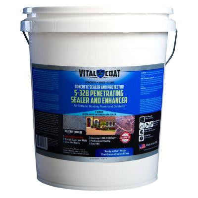 S-328 5 Gal. Penetrating Sealer and Enhancer
