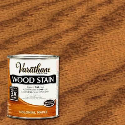 1 qt. 3X Colonial Maple Premium Wood Stain (2-Pack)