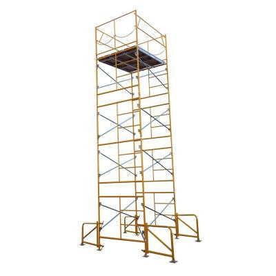 20 ft. x 7 ft. x 5 ft. Stationary Scaffold Tower 2475 lb. Load Capacity