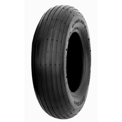 Rib Flat Free 4.8 in. x 4-8 in. Tire and Wheel