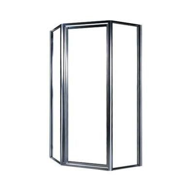 36 in. Neo-Angle Shower Door with Clear Glass