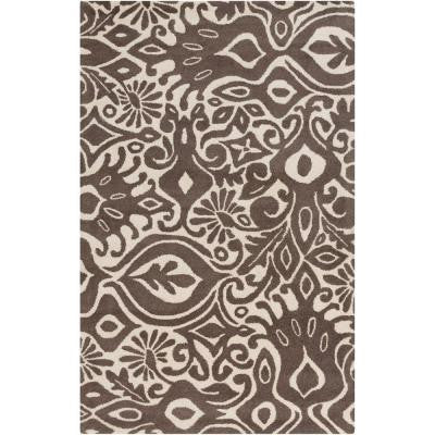 Alhambra Taupe 5 ft. x 8 ft. Indoor Area Rug