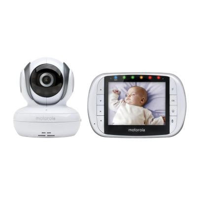 Digital Wireless Video Baby Monitor with 3.5 in. Diagonal Color Screen and Enhanced 2-Way Audio