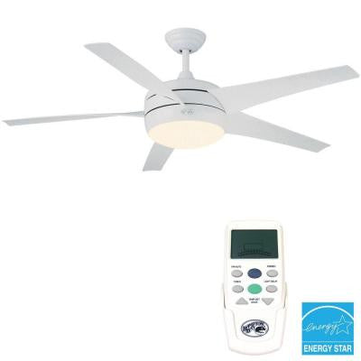 Windward II 54 in. White Ceiling Fan