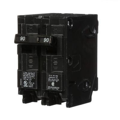 90 Amp Double-Pole Type QP Circuit Breaker