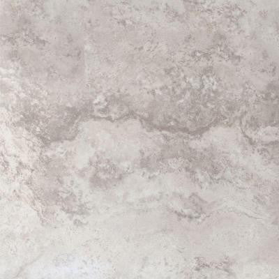 Piazza Ivory 18 in. x 18 in. Glazed Porcelain Floor and Wall Tile (15.75 sq. ft. / case)