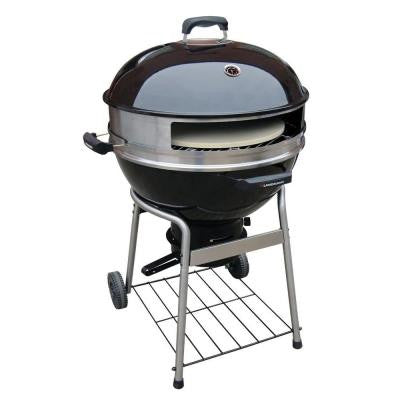 23 in. Diameter Pizza Kettle Charcoal Grill