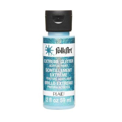 2-oz. Turquoise Extreme Glitter Craft Paint