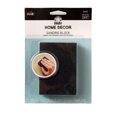 Home Decor Chalk Finish Sanding Foam Block