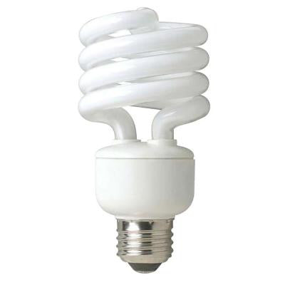 100W Equivalent Daylight Spiral Double Life CFL Light Bulb (4-Pack)
