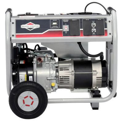 5,000-Watt Gasoline Powered Portable Generator with Hour Meter