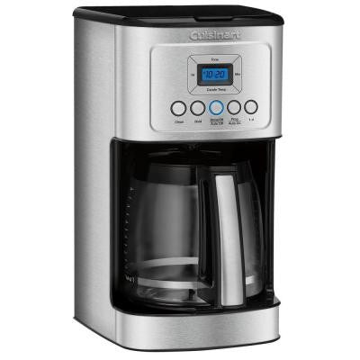 PerfecTemp 14-Cup Programmable Coffee Maker in Stainless Steel
