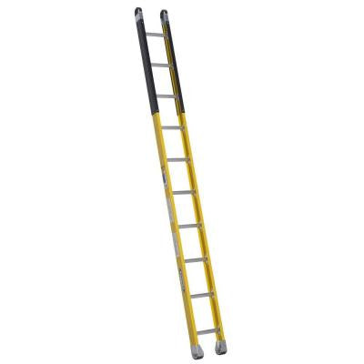 10 ft. Fiberglass Manhole Ladder with 375 lb. Load Capacity Type IAA Duty Rating