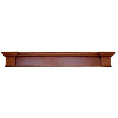 Harbour 6 ft. x 0.63 ft. Mahogany Cap-Shelf Mantel