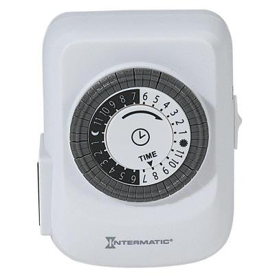15 Amp Plug-In Heavy Duty Indoor Timer - White