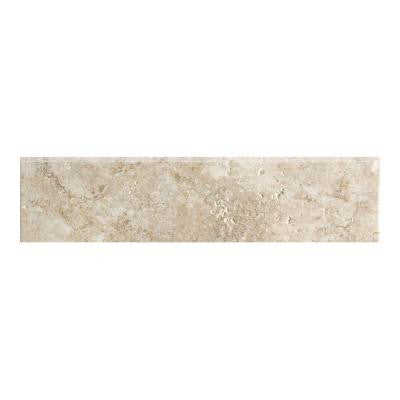 Artea Stone 3 in. x 13 in. Antico Porcelain Bullnose Floor and Wall Tile
