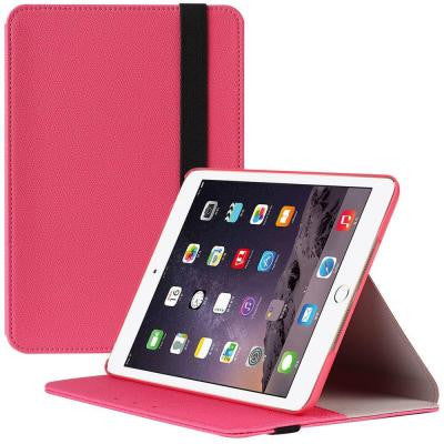 Slim Hard Shell Leather Case for Apple iPad Mini 4 Case - Pink