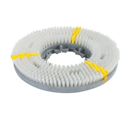 12 in. Value Rotary Daily Cleaning Brush in White - EZ Snap