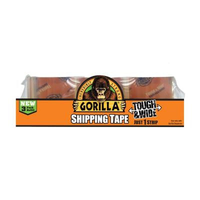 2.83 in. x 30 yds. Shipping Tape Refill (3-Pack)