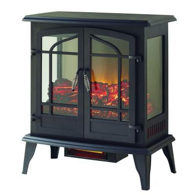 Legacy 1000 sq. ft. 25 in. Panoramic Electric Stove with Remote