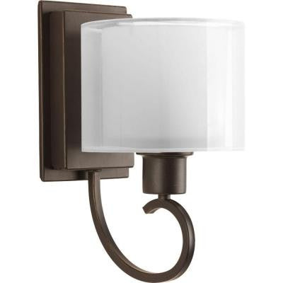 Invite Collection 1-Light Antique Bronze Wall Bracket