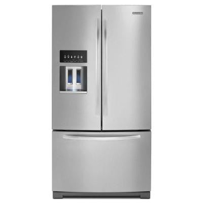 Architect Series II 26.8 cu. ft. French Door Refrigerator in Stainless Steel
