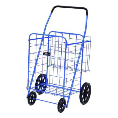 Jumbo Plus Shopping Cart in Blue