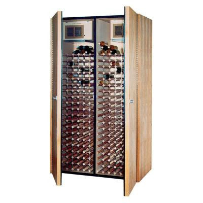 400-Bottle Wine Cellar in Medium Walnut