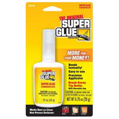 .70 oz. Glue Bottle w/Breakaway Tip (12-Pack)