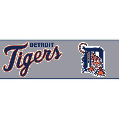 Boys Will Be Boys II 6 in. Detriot Tigers Border