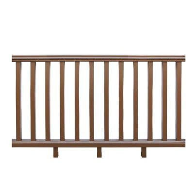 Royal 6 ft. x 3 ft. Railing Kit in Peruvian Teak