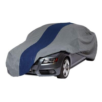 Double Defender Sedan Semi-Custom Car Cover Fits up to 13 ft. 1 in.