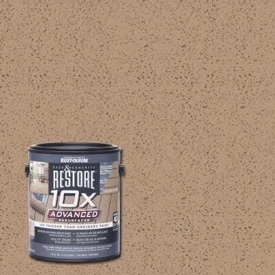 1 gal. 10X Advanced Clay Deck and Concrete Resurfacer
