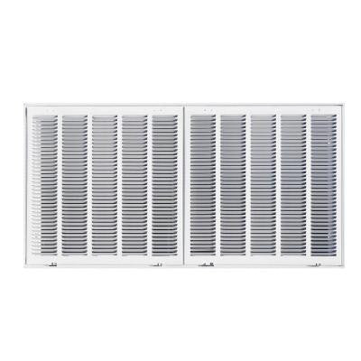 40 in. x 20 in. Steel Return Air Filter Grille, White