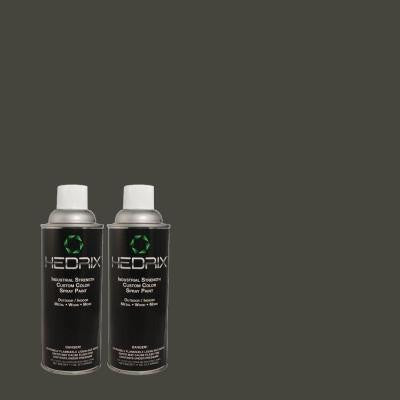 11 oz. Match of 740F-7 Night Shade Low Lustre Custom Spray Paint (2-Pack)
