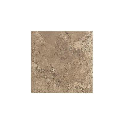 Stratford Place Truffle 3 in. x 3 in. Ceramic Bullnose Wall Tile