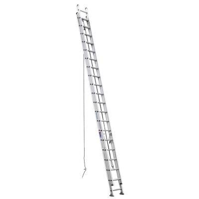 40 ft. Aluminum D-Rung Extension Ladder with 300 lb. Load Capacity Type IA Duty Rating