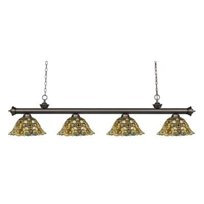 Coastal Olde Bronze 4-Light Olde Bronze Island Light