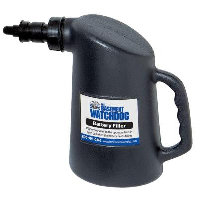 64 oz. Black Battery Filler Bottle