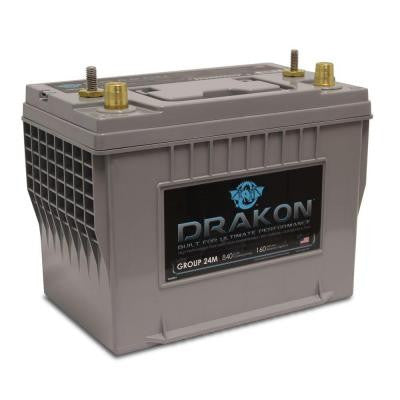 12-Volt High Performance Group 27 Pure Lead AGM Marine Battery