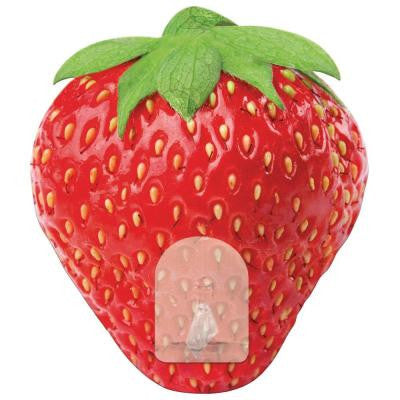 2.875 in. Strawberry Magic Hook Wall Graphic
