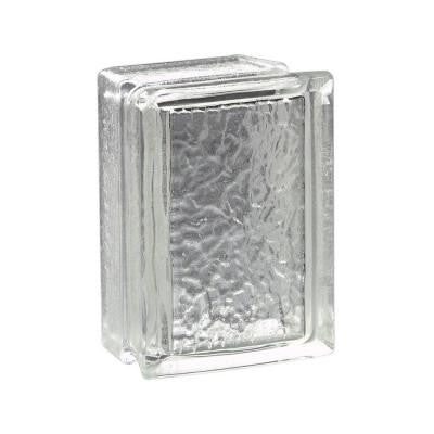 6 in. x 8 in. x 4 in. Arque IceScapes Glass Block(4-Case)
