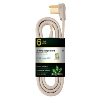 6 ft. 6/1 3-Wire Range Cord
