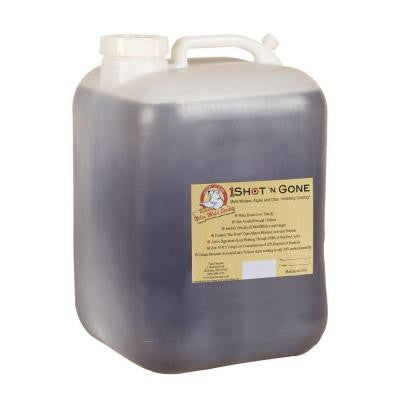 5 Gal. 1 Shot N Gone Mold/Mildew/Algae Inhibiting Coating Container
