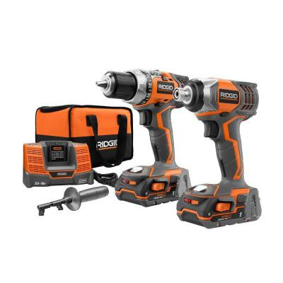 Reconditioned 18-Volt Drill and Impact Combo Kit